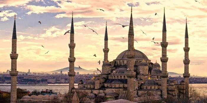 Una de las mezquitas de Estambul