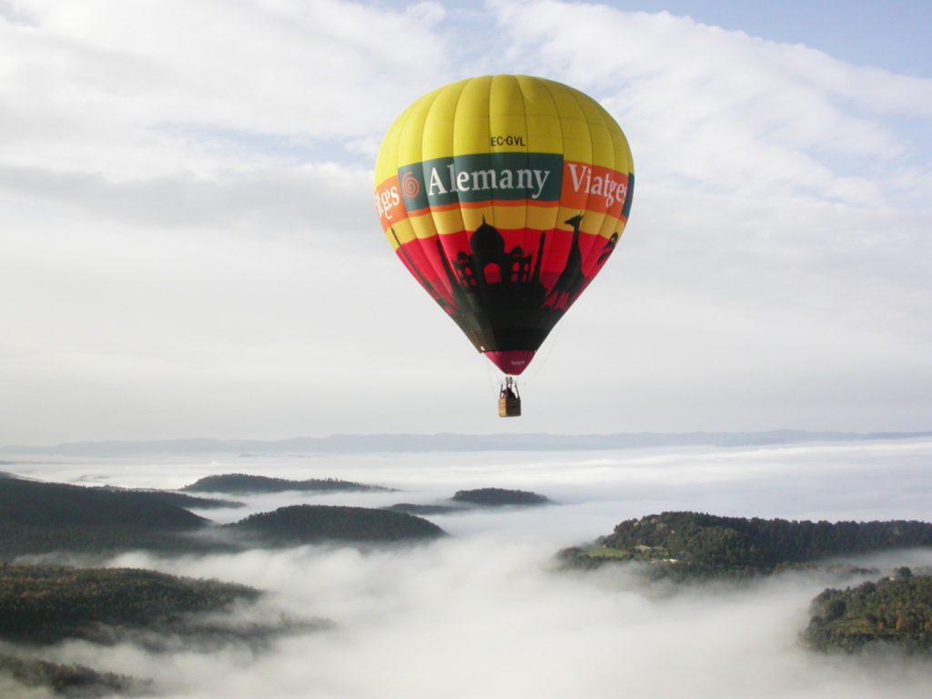El globus per el cautiu de la fira de la muntanya de vic