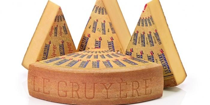 El queso de Gruyere es un producto internacional