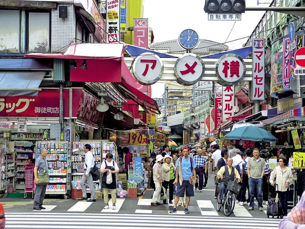No comas en la calle durante tu viaje a japon