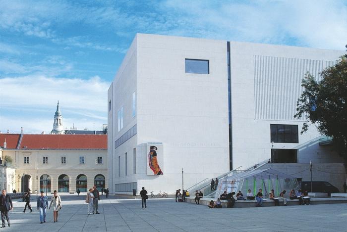 Museums Quartier de Viena en un viaje cultural por Austria