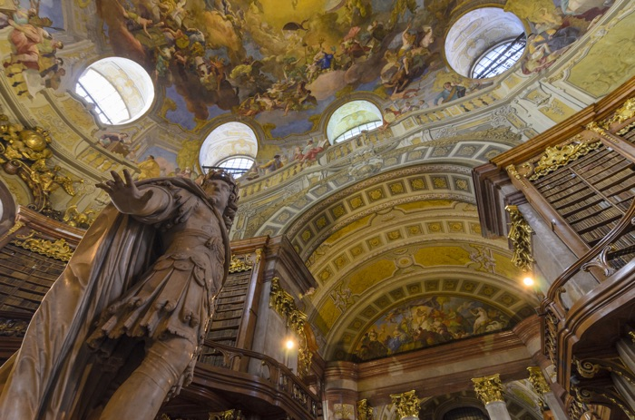 Biblioteca Nacional d'Àustria © Austria Publicidad, Volker Preusser