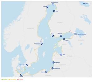 mapa Eurovelo ruta 10