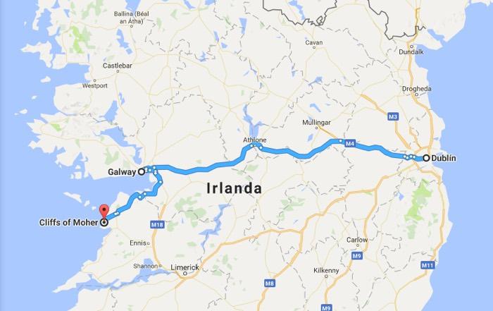 Recorrido 1: Que ver en Irlanda en 4 dias
