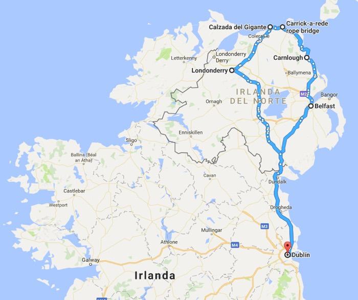 Recorrido 3: Que ver en Irlanda en 4 dias