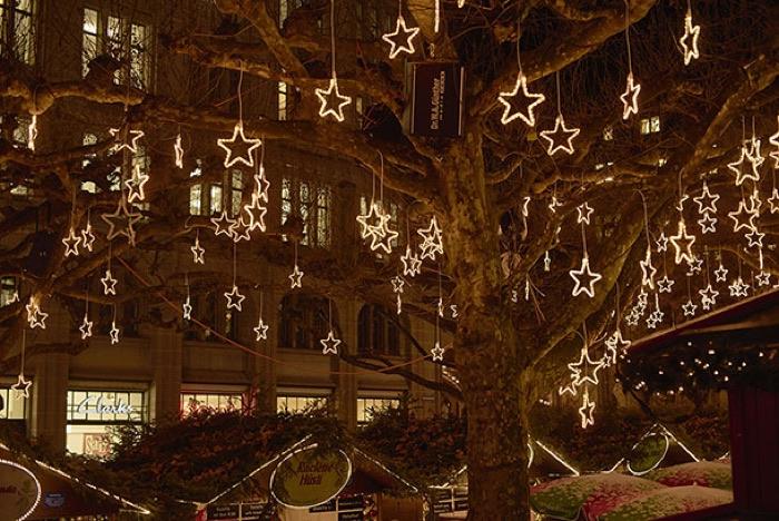 El mercadillo de Navidad de Werdmühleplatz