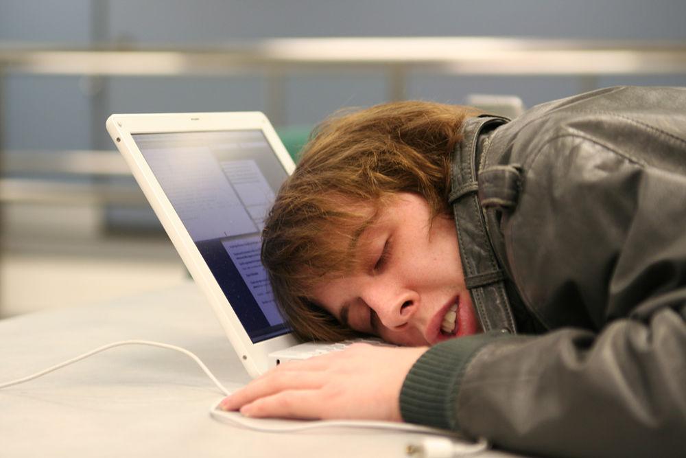 Viajar a Japon y quedarse dormido en el trabajo es bueno