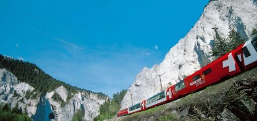 El Glacier Express un dels trens panoramics