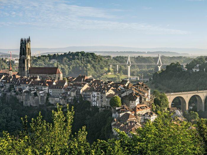 Hay muchas cosas que ver en Friburgo de Suiza