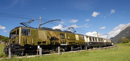 Vagón del tren del chocolate
