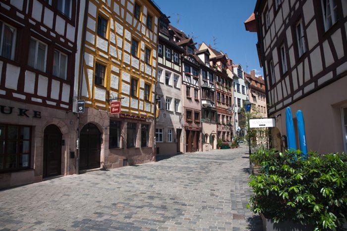 Els carrers de Nuremberg